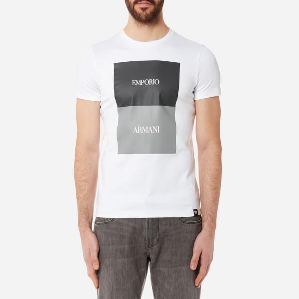 Emporio Armani Sweatshirt - bianco ottico GippaT