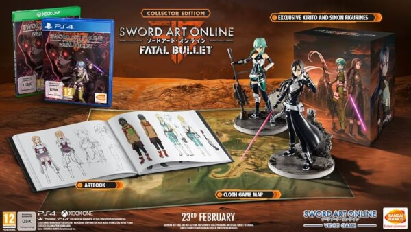Sword Art Online: Fatal Bullet Collectors Edition