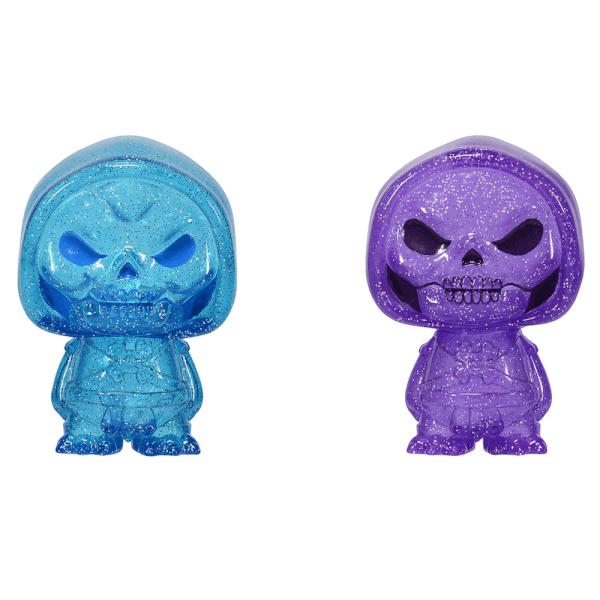 Masters of the Universe Skeletor Blue and Purple Hikari XS Vinyl Figure 2 Pack