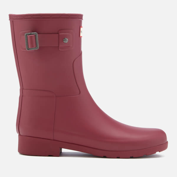 Hunter Women's Original Refined Short Wellies - Damson