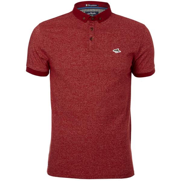 Le Shark Men's Lanfranc Polo Shirt - LS Red