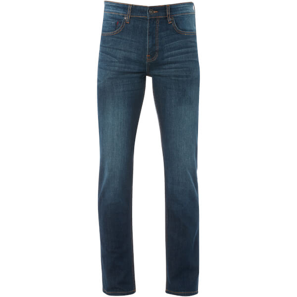 Ringspun Men's Godzi Slim Fit Jeans - Blue Denim