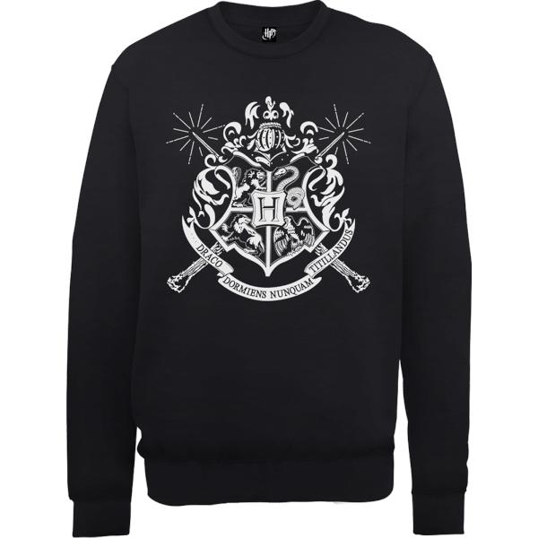 Harry Potter Draco Dormiens Nunquam Titillandus Black Sweatshirt