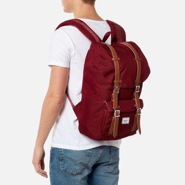 bdce493e735 Herschel Supply Co. Men s Little America Backpack - Wine Tan  Image 3
