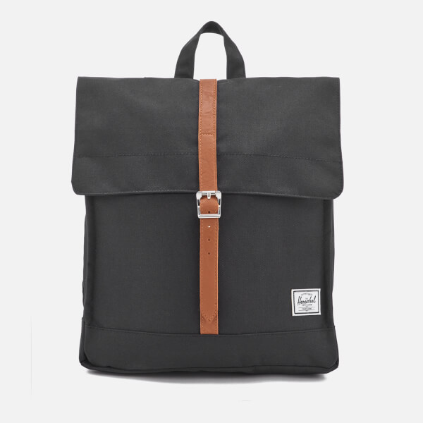 Herschel Supply Co. Men's City Mid-Volume Backpack - Black/Tan