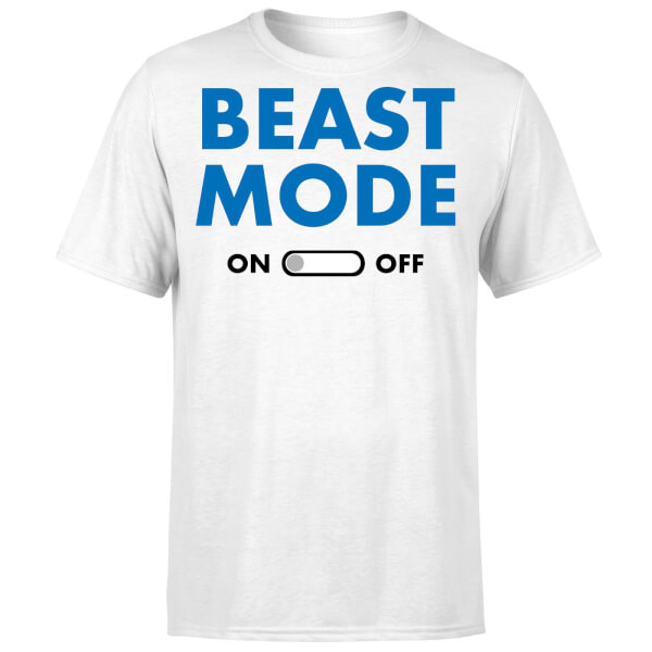 Beast Mode On T-Shirt - White