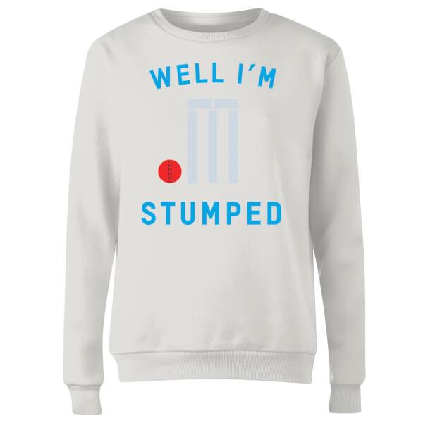 Well Im Stumped Women's Sweatshirt - White
