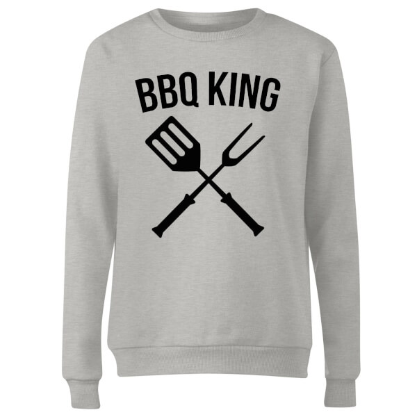 BBQ King Women's Sweatshirt - Grey