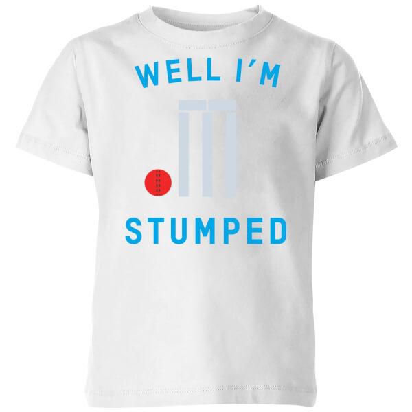 Well Im Stumped Kids' T-Shirt - White
