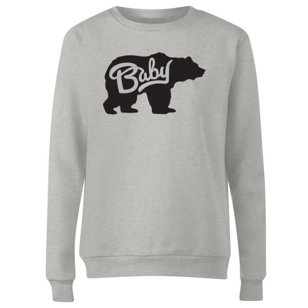 Baby Bear Women's Sweatshirt - Grey