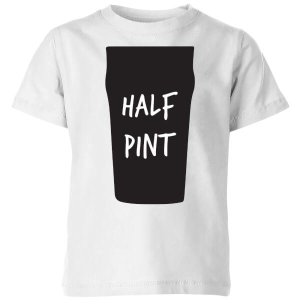 My Little Rascal Half Pint Kids' T-Shirt - White