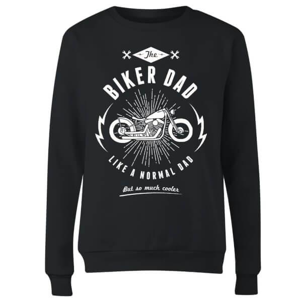 Biker Dad Women's Sweatshirt - Black