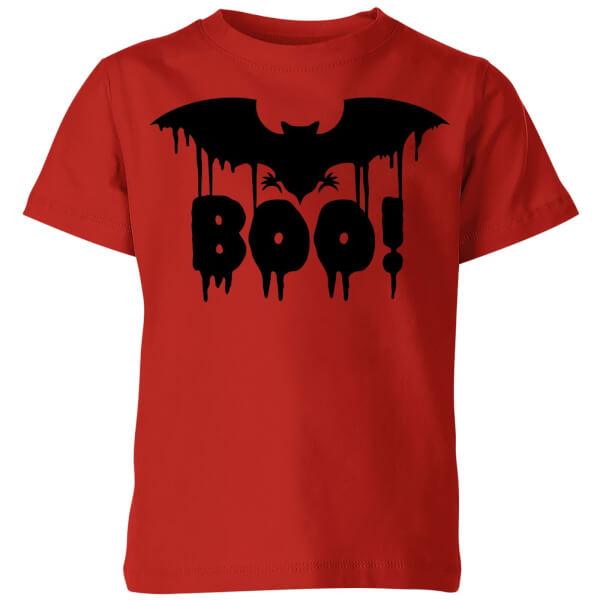 Boo Bat Kids' T-Shirt - Red