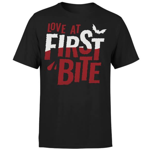 Love at First Bite T-Shirt - Black