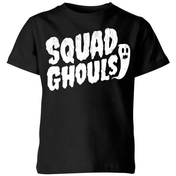 Squad Ghouls Kids' T-Shirt - Black