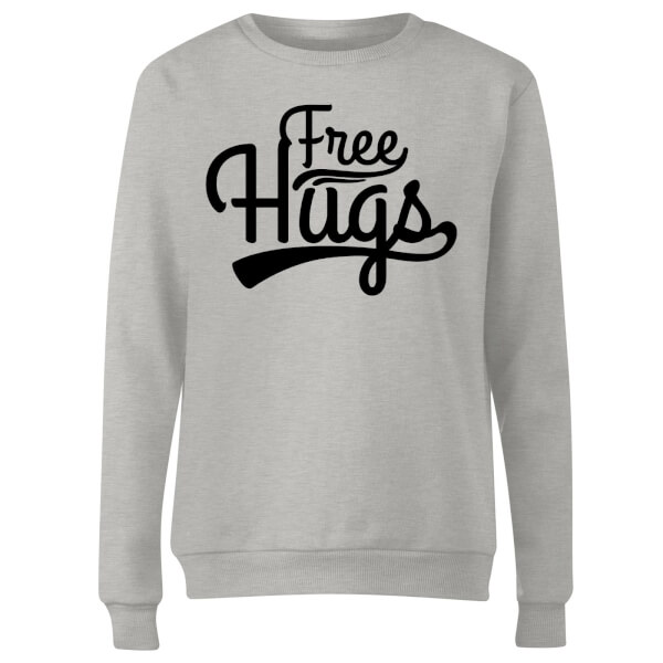 Free Hugs Women's Sweatshirt - Grey