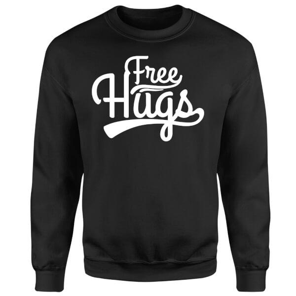 Free Hugs Sweatshirt - Black