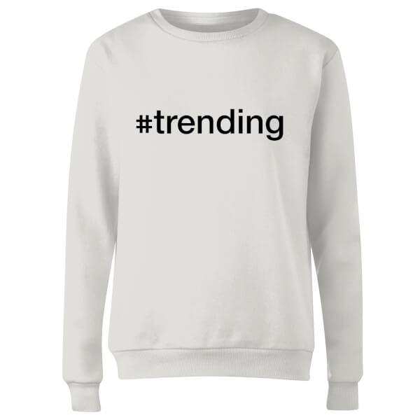 trending Women's Sweatshirt - White