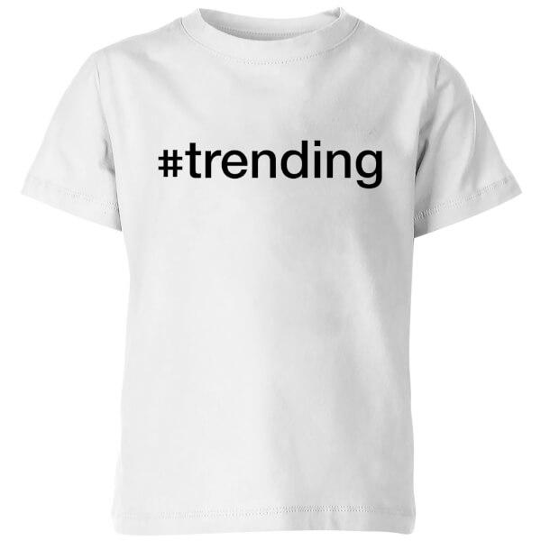 trending Kids' T-Shirt - White