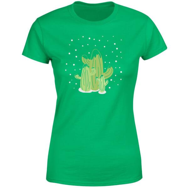 Cactus trio Women's T-Shirt - Kelly Green