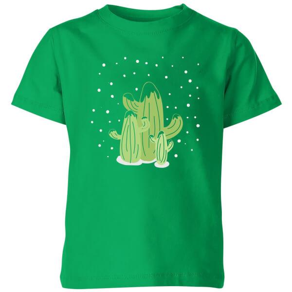 Cactus trio Kids' T-Shirt - Kelly Green