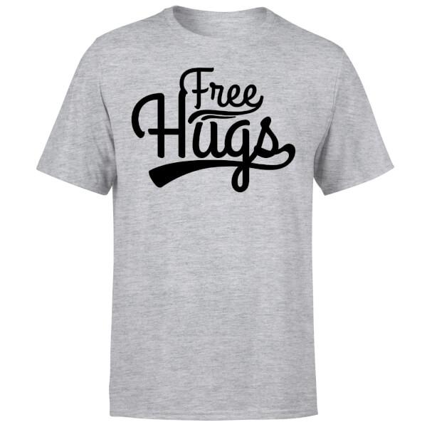 Free Hugs T-Shirt - Grey