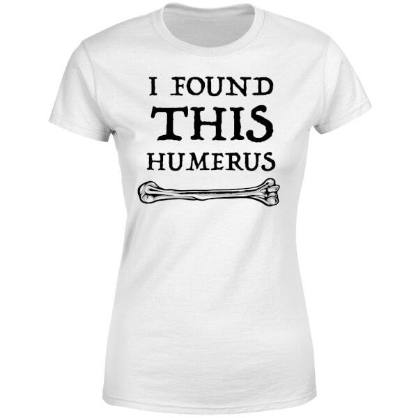 I Found this Humurus Women's T-Shirt - White