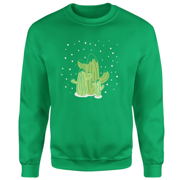 Cactus trio Sweatshirt - Kelly Green