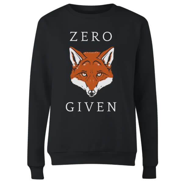 Zero Fox Given Women's Sweatshirt - Black