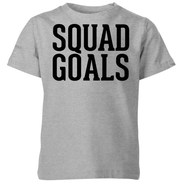 Squad Goals Kids' T-Shirt - Grey