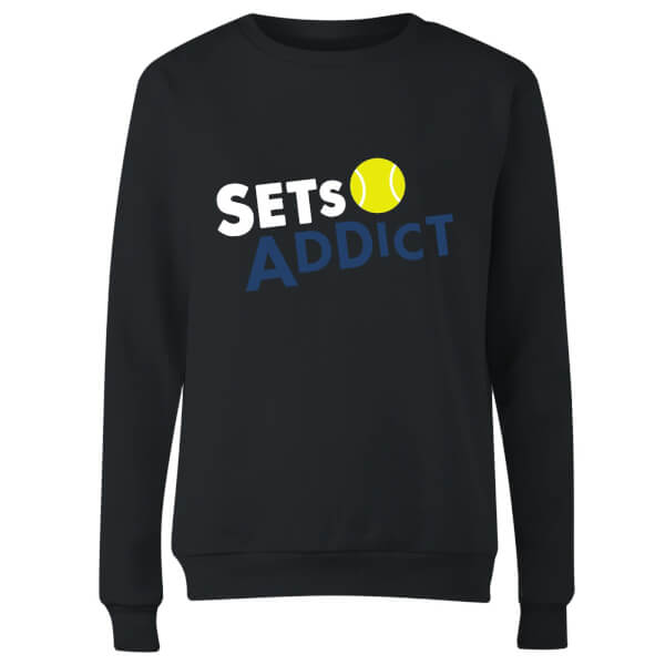 Set Addicts Women's Sweatshirt - Black