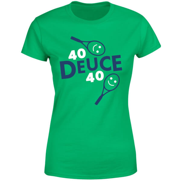40 Deuce 40 Women's T-Shirt - Kelly Green