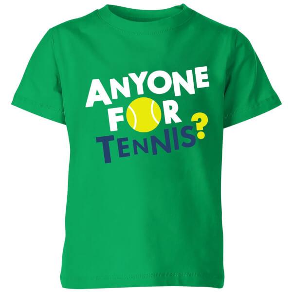 Anyone for Tennis Kids' T-Shirt - Kelly Green