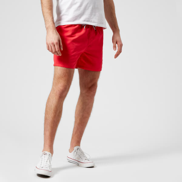 Ted Baker Men's Danbury Swim Shorts - Red