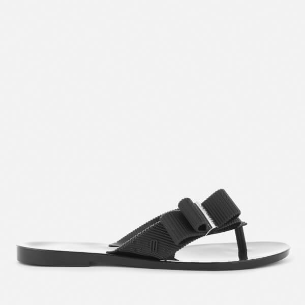 Jason Wu for Melissa Women's Girl Toe Post Sandals - Black