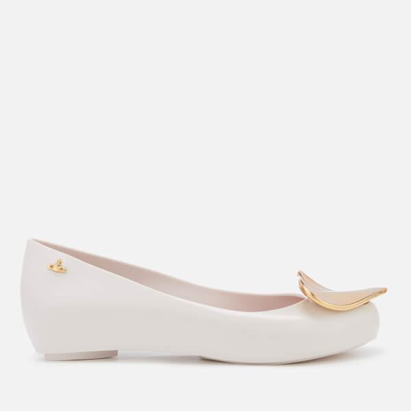 Vivienne Westwood for Melissa Women's Ultragirl 19 Ballet Flats - White Heart