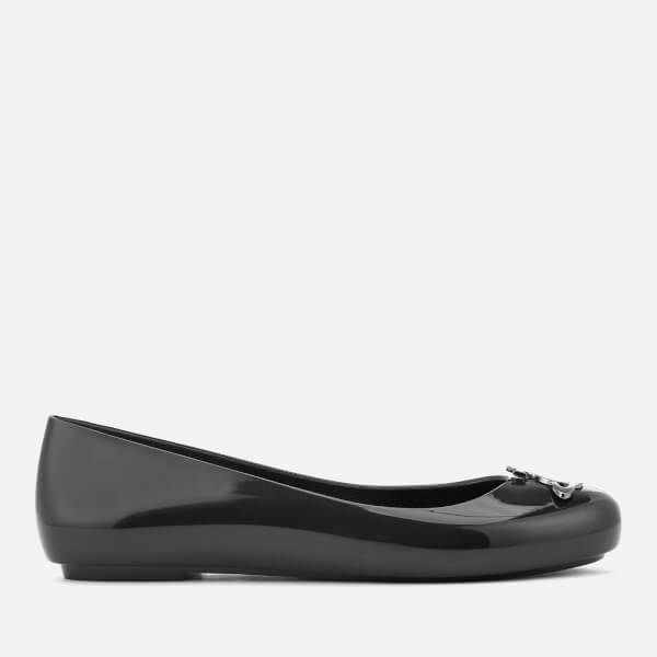 Vivienne Westwood for Melissa Women's Space Love 19 Ballet Flats - Black Orb