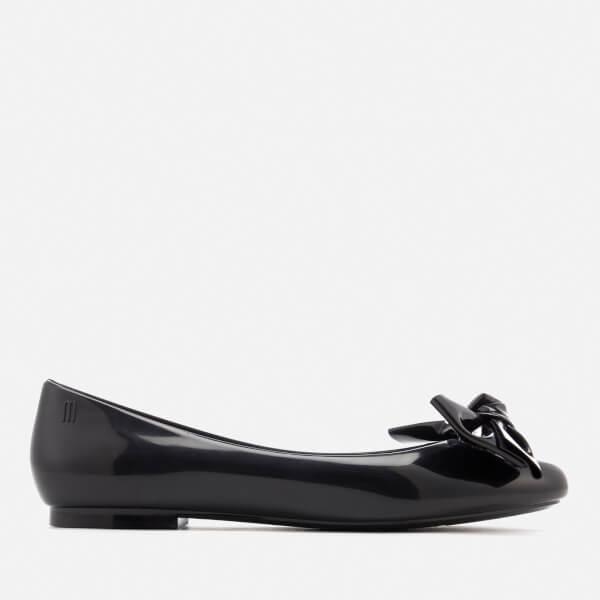 Melissa Women's Doll Bow Ballet Flats - Black
