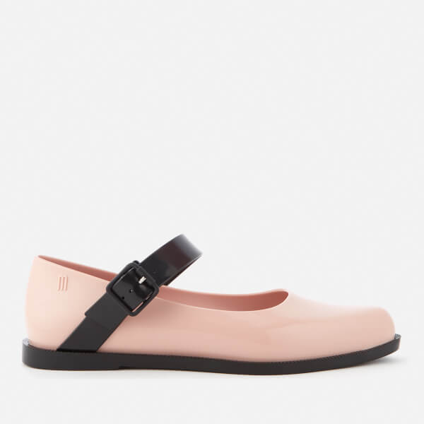 Melissa Women's Mary Jane Flat Shoes - Blush Contrast