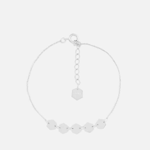Cluse Women's Essentielle Hexagons Chain Bracelet - Silver