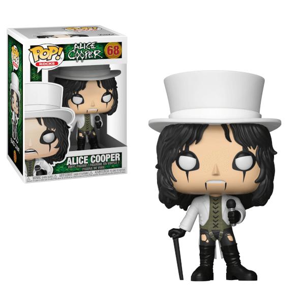 Pop! Rocks Alice Cooper Pop! Vinyl Figure