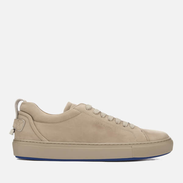 BUSCEMI Men's Lyndon Nubuck Trainers - Fog - UK 7 EsmMVs8