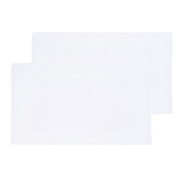 Christy Supreme Hygro Bath Mat - Set of 2 - White