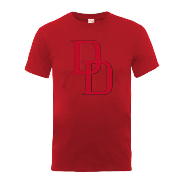 Marvel Comics Daredevil Logo Men's Red T-Shirt