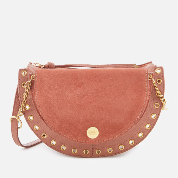 See By Chloé Women's Suede Shoulder Bag - Cheek