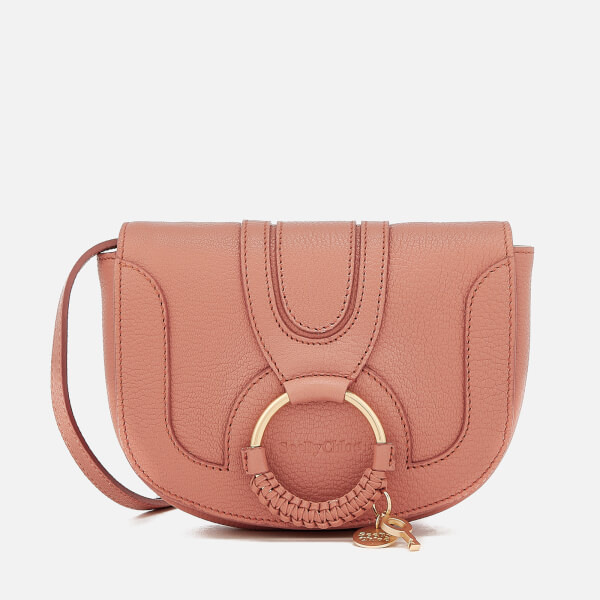 See By Chloé Women's Hana Leather Cross Body Bag - Cheek