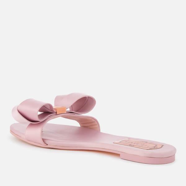 262324804413 Ted Baker Women s Beauita Satin Bow Sandals - Light Pink  Image 2