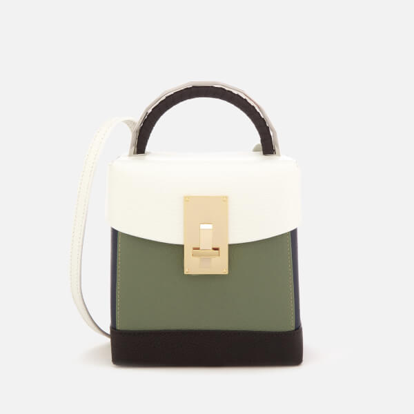 The Volon Women's Box Basic Bag - White & Military