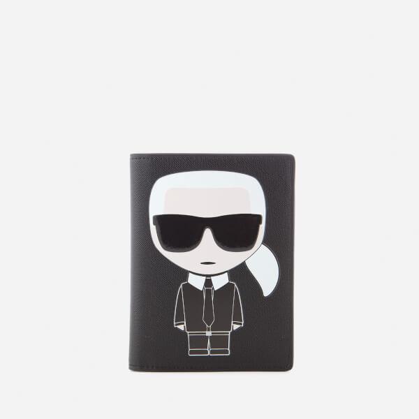 K/Ikonik Passport Holder Karl Lagerfeld XNQsIyGow