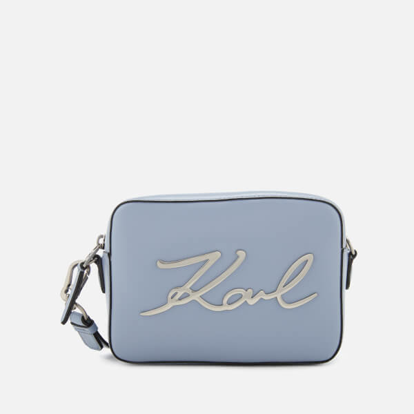 Karl Lagerfeld Women's K/Signature Camera Bag - Mistic Blue